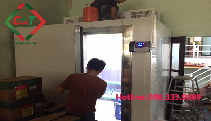 lắp đặt kho lạnh bảo quản đán viên