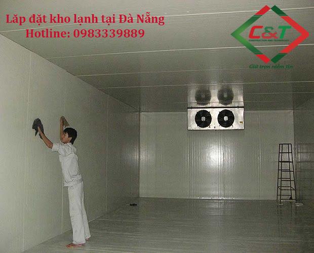 Lắp đặt kho lạnh tại Đà Nẵng quy mô lớn