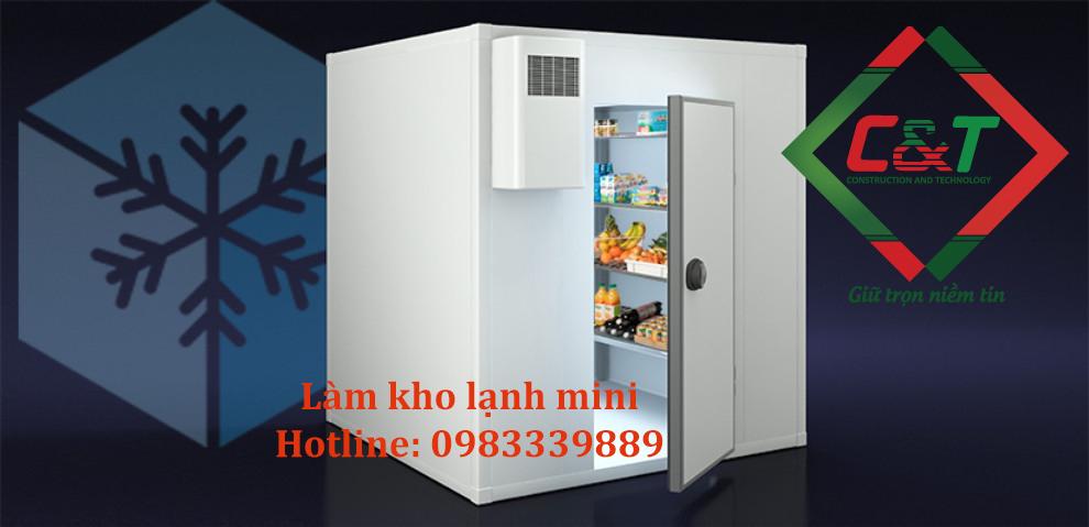 Lợi ích của làm kho lạnh mi ni tại Hà Nội