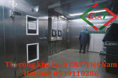 Đơn vị thi công kho lạnh C&T Việt Nam