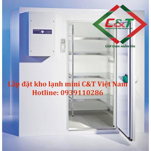 Lắp đặt kho lạnh mini tiết kiệm diện tích